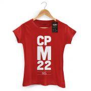 Camiseta Feminina CPM 22 90´s Vermelha