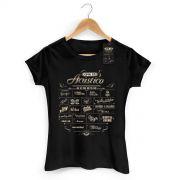 Camiseta Feminina CPM 22 Setlist