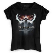 Camiseta Feminina Diablo III Ceifeiro