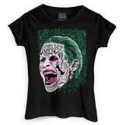 Camiseta Feminina Esquadr�o Suicida The Joker Prince of Crime