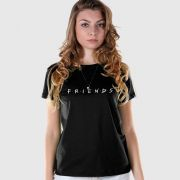 Camiseta Feminina Friends Logo