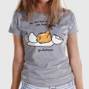 Camiseta Feminina Gudetama Não Faça Hoje