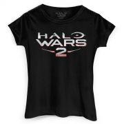 Camiseta Feminina Halo Wars 2 Logo