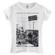 Camiseta Feminina Harmonia do Samba Cidade