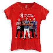 Camiseta Feminina Harmonia do Samba Grupo