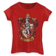 Camiseta Feminina Harry Potter Gryffindor