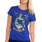 Camiseta Feminina Harry Potter Ravenclaw