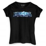 Camiseta Feminina Heroes Of The Storm Logo