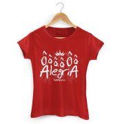 Camiseta Feminina Ivete Sangalo Ôôô Alegria
