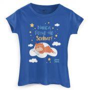 Camiseta Feminina Jaime Nunca Deixe de Sonhar