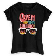 Camiseta Feminina João Rock Quem Não Tem Colírio