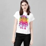 Camiseta Feminina Liga da Justiça Rainbow
