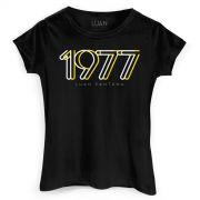 Camiseta Feminina Luan Santana 1977