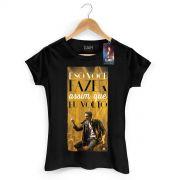 Camiseta Feminina Luan Santana Eu Volto