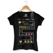 Camiseta Feminina Magali 50 Anos High Score