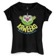 Camiseta Feminina Monstra Maçã Kaweeko