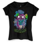 Camiseta Feminina Monstra #Minhamonstramaca