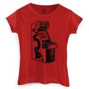 Camiseta Feminina Mortal Kombat Arcade
