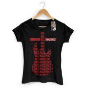 Camiseta Feminina NXZero Guitar