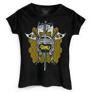Camiseta Feminina O Senhor dos Anéis Gimli