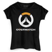 Camiseta Feminina Overwatch Logo