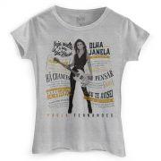 Camiseta Feminina Paula Fernandes Não Depende da Sorte