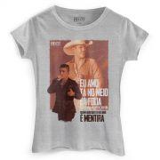 Camiseta Feminina Pedro Paulo & Alex Eu Amo