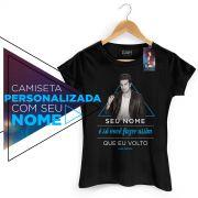 Camiseta Feminina Luan Santana Estalo