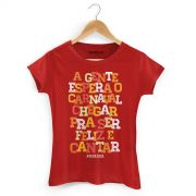 Camiseta Feminina Saulo A Espera