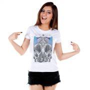 Camiseta Feminina Sofia Oliveira Elephant