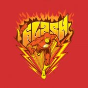 Camiseta Feminina The Flash Fire