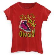 Camiseta Feminina TodaTeen Let�s Run Away