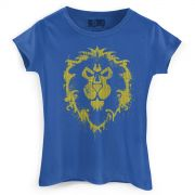 Camiseta Feminina World of Warcraft Aliança
