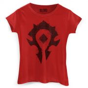Camiseta Feminina World of Warcraft Horda
