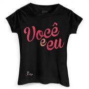 Camiseta Feminina Zé Felipe Você e Eu Black