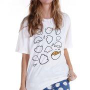 Camiseta Unissex Gudetama Ovoterapia