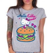 Camiseta Hello Kitty Big Burguer