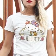 Camiseta Hello Kitty Flourish