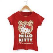 Camiseta Hello Kitty Love Animals