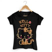 Camiseta Hello Kitty Print Fuzzy 3