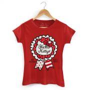 Camiseta Hello Kitty Selo Arigato