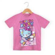 Camiseta Infantil Hello Kitty Super Hero
