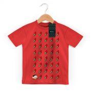 Camiseta Infantil Magali 50 Anos Sorvetes