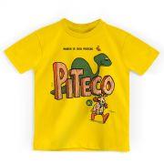 Camiseta Infantil Turma da Mônica HQ Piteco