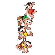 Camiseta Infantil Turma Da Mônica Kids A Turma