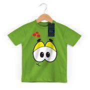 Camiseta Infantil Turma da Mônica Kids Olhões Horácio