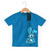 Camiseta Infantil Turma Da M�nica Kids Sans�o Azul