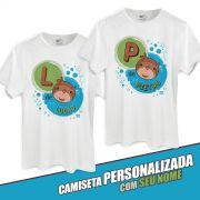 Camiseta Masculina Personalizada Jaime Mascote Sem Time
