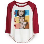 Camiseta Manga Longa Feminina Banda Fly Trio