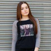 Camiseta Manga Longa Feminina Ivete Sangalo Triple